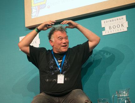 Stewart Lee Chats to Ian Rankin at Edinburgh International Book Festival