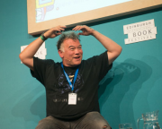 Stewart Lee Chats to Ian Rankin at Book Festival
