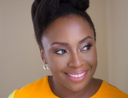 Chimamanda Ngozi Adichie with Nicola Sturgeon