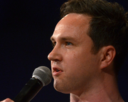 Ewan Morrison and Alan Bissett