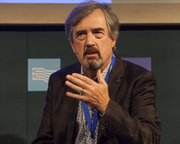 IRISH AUTHOR SEBASTIAN BARRY SPEAKS ELOQUENTLY  AT THE EDINBURGH INTERNATIONAL BOOK FESTIVAL