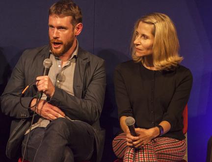 Outriders Malachy Tallack and Jennifer Haigh Talk About their Journey Across America at the Edinburgh International Book Festival
