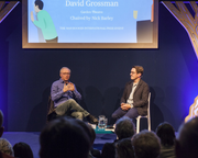 2017 Man Booker International Prize Winner in a rare appearance at Edinburgh International Book Festival