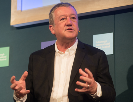 Veteran Broadcaster Allan Little Warns Against Cynicism About Journalism at the Edinburgh International Book Festival