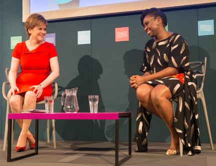 Chimamanda Ngozi Adichie and Nicola Sturgeon Discuss Equality in the 21st Century