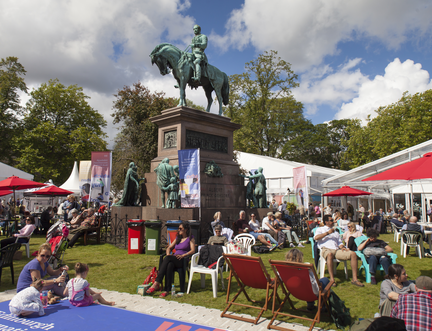 Edinburgh International Book Festival Enjoys Another Extraordinarily Successful Year
