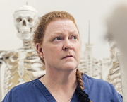 Sue Black with Val McDermid