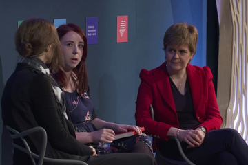Heather McDaid & Nicola Sturgeon with Elif Shafak (2017 Event)