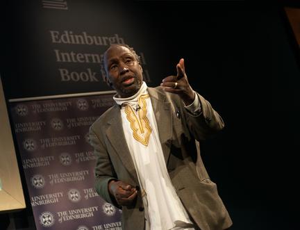 Kenyan Novelist Ngũgĩ wa Thiong'o Speaks at the Book Festival
